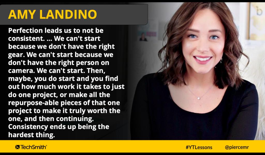 Cita de Amy Landino
