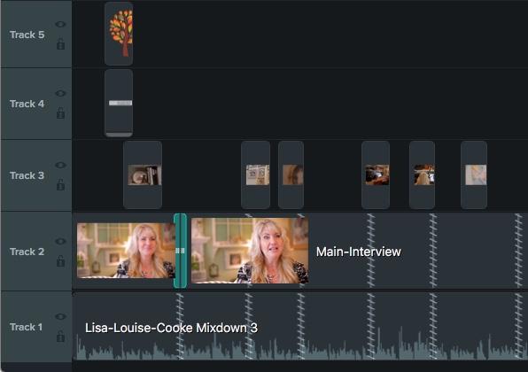 Agregue metraje adicional a la línea de tiempo de su video para editar