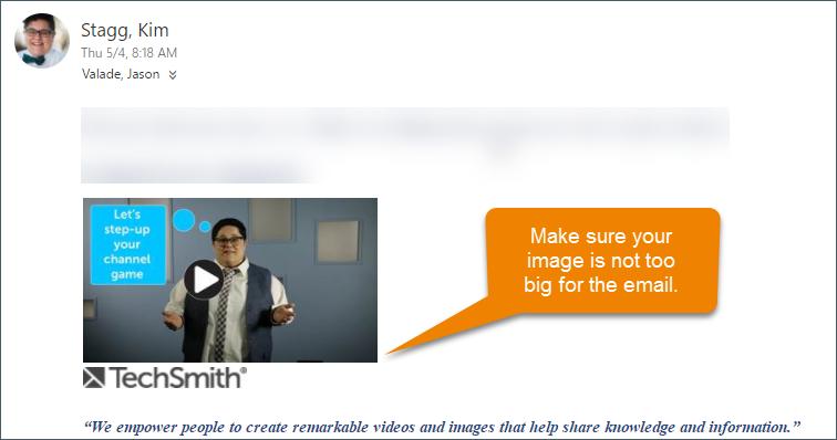 Usar la herramienta de desenfoque de captura de pantalla de Snagit para eliminar información innecesaria