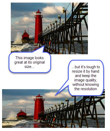 mantener la calidad de la imagen