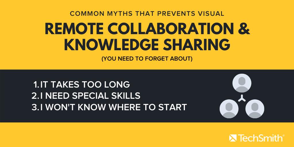 lista de mitos para la colaboración remota