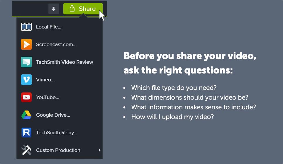 consejos para compartir grabaciones de pantalla