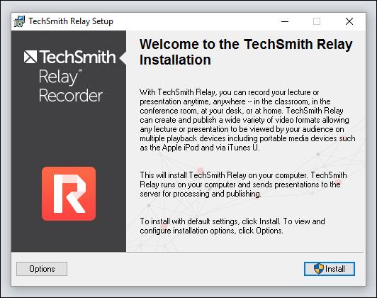 Instalador de TechSmith Relay