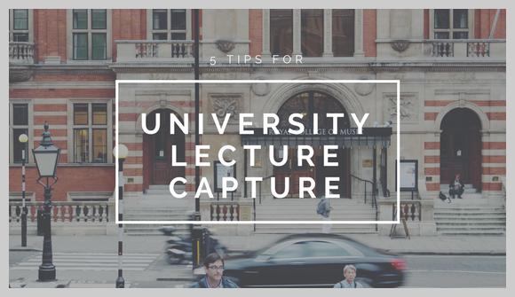 5 consejos para la captura de conferencias universitarias