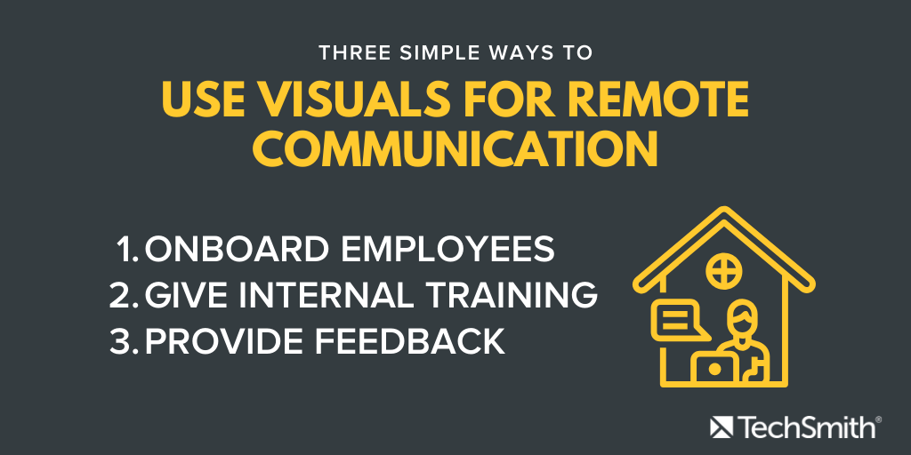 tres formas para que las personas se comuniquen de forma remota
